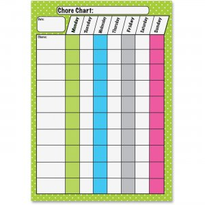 Ashley 10089 Magnetic Dry Erase Chore Chart ASH10089
