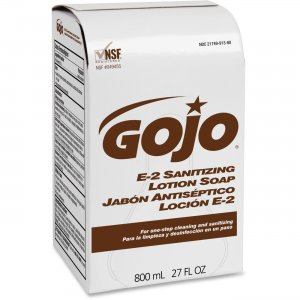 GOJO 913212CT E-2 Sanitizing Lotion Soap GOJ913212CT