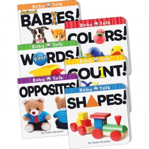 Teacher Created Resources 418679 Baby Talk Board Book Set TCR418679