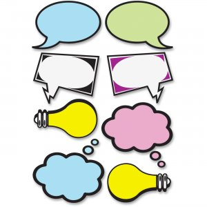 Ashley 10137 Speech Bubbles Dry Erase Magnets ASH10137