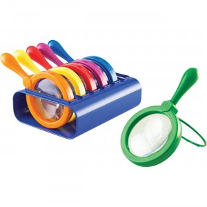 Learning Resources LER2884 Jumbo Magnifiers Set LRNLER2884