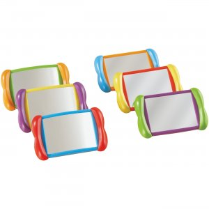 Learning Resources LER3371 All About Me 2-in-1 Mirrors LRNLER3371