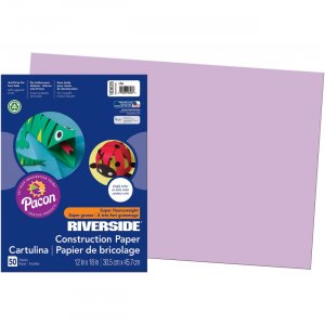 Pacon 103635 Riverside Groundwood Construction Paper PAC103635