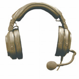 Telex HR2PT Dual Sided Headset HR-2PT