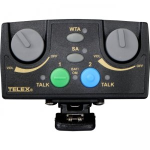 Telex TR-82N-C5R5 Narrow Band UHF Two-Channel Binaural Wireless Synthesized Portable Beltpack TR-82N