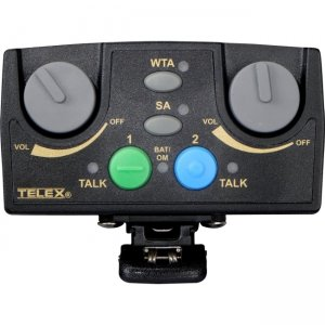 Telex TR-82N-D4 Narrow Band UHF Two-Channel Binaural Wireless Synthesized Portable Beltpack TR-82N