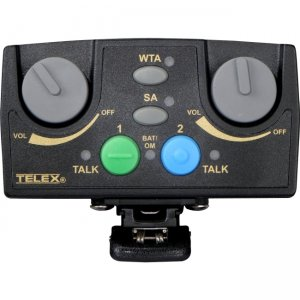 RTS TR-82N-D5R Narrow Band UHF Two-Channel Binaural Wireless Synthesized Portable Beltpack TR-82N