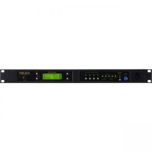 Telex BTR-80N-H2R5 Narrow Band 2-Channel UHF Synthesized Wireless Intercom System BTR-80N