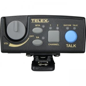 Telex TR-80N-F2R Narrow Band UHF Two-Channel Wireless Synthesized Portable Beltpack TR-80N