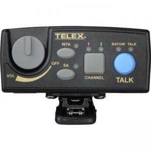 Telex TR-80N-F3 Narrow Band UHF Two-Channel Wireless Synthesized Portable Beltpack TR-80N