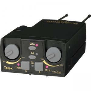 Telex TR-825-H1 UHF Two-Channel Binaural Wireless Beltpack TR-825