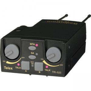 Telex TR-825-H1R5 UHF Two-Channel Binaural Wireless Beltpack TR-825