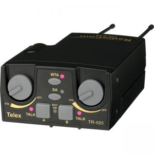 Telex TR-825-F1 UHF Two-Channel Binaural Wireless Beltpack TR-825