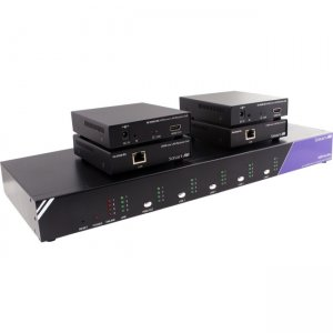 SmartAVI HDR4X4PROS 4x4 HDMI, RS-232, IR Router