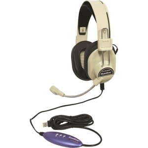 Ergoguys HA-66USBSM Over Ear Headset w/ Microphone USB