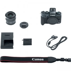 Canon 1279C011 EOS Mirrorless Camera with Lens