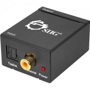 SIIG CE-CV0011-S2 Digital to Analog Audio Converter