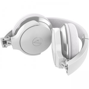 Audio-Technica ATH-AR3ISWH ATH-AR3iS SonicFuel On-Ear Headphones with Mic & Control