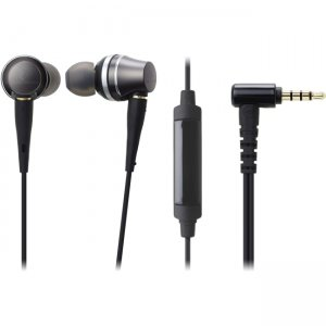 Audio-Technica ATH-CKR90IS Sound Reality In-Ear High-Resolution Headphones with Mic & Control