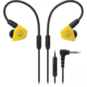 Audio-Technica ATH-LS50ISYL ATH-LS50iS In-Ear Headphones with In-line Mic & Control