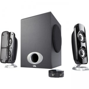 Cyber Acoustics CA-3858BT Powered Speaker System with Control Pod and Bluetooth