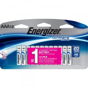 Energizer L92SBP-12 Ultimate Lithium AA Batteries EVEL92SBP12