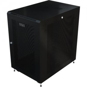 StarTech.com RK1233BKM Server Rack Cabinet - 31 in. Deep Enclosure - 12U