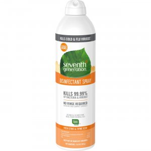 Seventh Generation 22980 Fresh Citrus/Thyme Disinfectant Spray SEV22980
