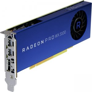 AMD 100-505999 Radeon Pro WX 3100 Graphic Card