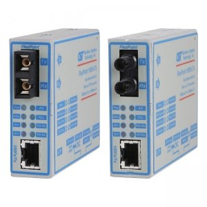 Omnitron Systems 4353-20 FlexPoint 100Fx/Tx Fast Ethernet Copper to Fiber Media Converter