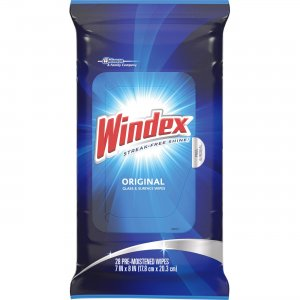Windex 642513 Original Glass/Surface Wipes SJN642513
