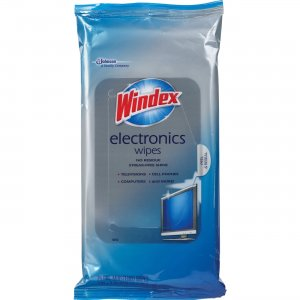 Windex 642517CT Electronics Wipes SJN642517CT