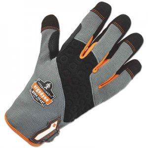 Ergodyne EGO17245 ProFlex 820 High Abrasion Handling Gloves, Gray, X-Large, 1 Pair