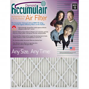 Accumulair FD12X304 Diamond Air Filter FLNFD12X304