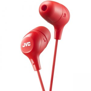 JVC HAFX38R Marshmallow Earphone