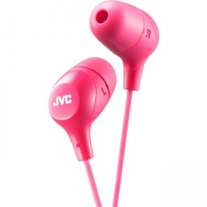 JVC HAFX38P Inner Ear Headphones