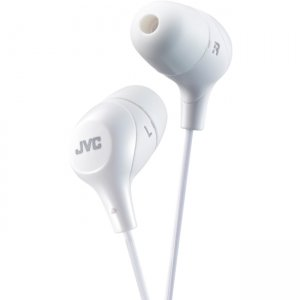 JVC HAFX38W Marshmallow Earphone
