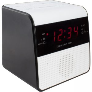 La Crosse Technology 30118 FM Clock Radio with USB Charging Port