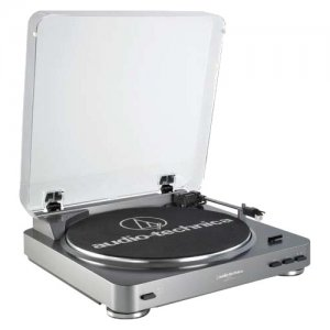 Audio-Technica AT-LP60bk Fully Automatic Stereo Turntable System