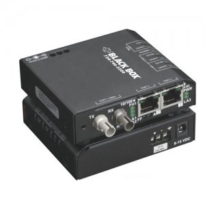 Black Box LBH100A-P-SSC Fast Ethernet Extreme Media Converter Switch