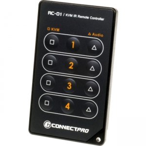 Connectpro RC-01 IR Remote Control for 2 and 4-Port Switches