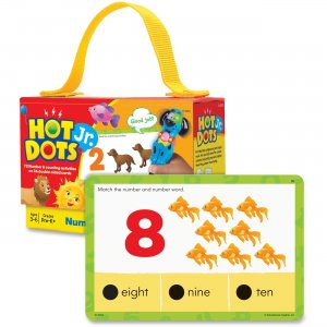 Hot Dots 2353 Jr. Numbers Card Set EII2353