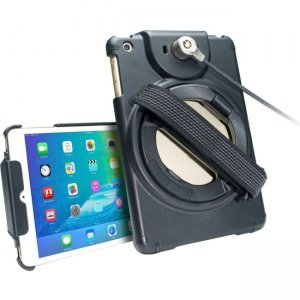 CTA Digital PAD-ACGM Anti-Theft Case with Built-In Grip Stand for iPad mini