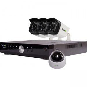 Revo RA41D1GB3G-1T Aero HD 4 Channel Video Surveillance System with 4 Cameras
