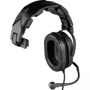 RTS HR-1 A5M Single-Sided Headset with Flexible Dynamic Boom Mic
