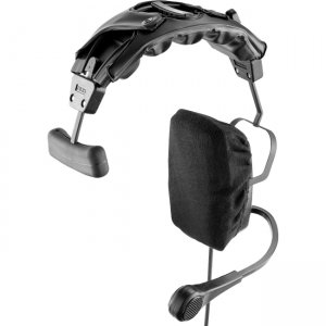 RTS PH-1 A5M Single-Sided Headset with Flexible Dynamic Boom Mic