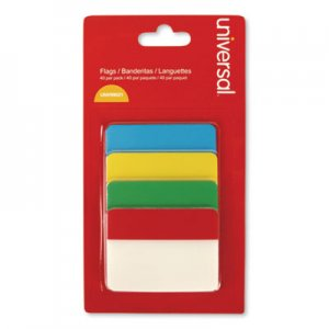 "Genpak UNV99021 Self Stick Index Tab, 2"", Assorted Colors, 40/Pack"