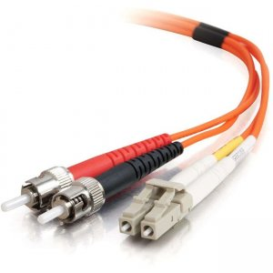 C2G 37945 Fiber Optic Duplex Patch Cable - Plenum Rated
