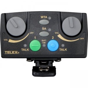 RTS TR-82N-D4R5 Narrow Band UHF Two-Channel Binaural Wireless Synthesized Portable Beltpack