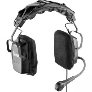 Telex PH-3 A5M Dual-Sided Headset with Flexible Dynamic Boom Mic